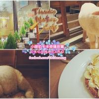 【CAFE推薦】韓國首爾弘大 超可愛羊咩咩特色咖啡店 Thanks Nature Cafe|吃貨伴旅 CACAmazing Travel