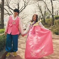 【好玩推薦】韓國首爾 Oneday Hanbok 韓服情侶裝 戶外拍照體驗|吃貨伴旅 CACAmazing Travel