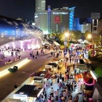 【美食推薦】韓國東大門 DDP 夜市START‼️ 美食車 勁舞團 夜間市集|吃貨伴旅 CACAmazing Travel